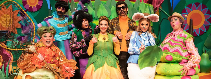 Image from Cbeebies Christmas Show:Thumbelina